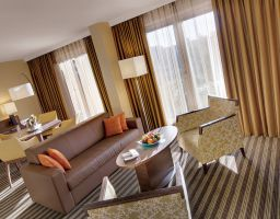 Hotel Courtyard by Marriott - Luminous Hotel Photography by T. Haberland